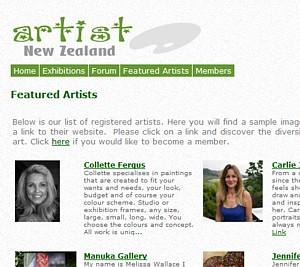 NzArtists.org.nz - PR1