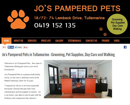 Jo's Pampered Pets